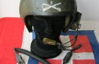 VIETNAM WAR US ARMY TANKER HELMET 6th REGIMENT CAVALRY