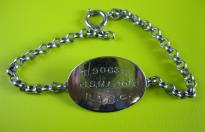 US ARMY DOG TAG OFFICIAL BRACELET
