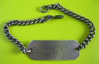 US ARMY DOG TAG BRACELET n1