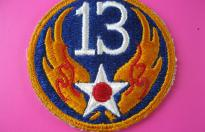 13th US AIR FORCE PATCH