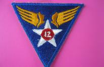 12th US AIR FORCE PATCH