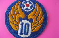10th US AIR FORCE PATCH