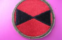 US ARMY PATCH 7th INFANTRY DIVISON PACIFIC FRONT