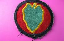 US ARMY PATCH 24th INFANTRY DIVISON PACIFIC FRONT