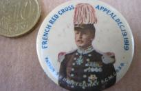 FRENCH RED CROSS  PIN19 DECEMBDER 1919