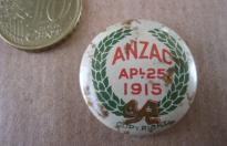 ANZAC 25 APRIL 1915 AUSTRALIAN PIN