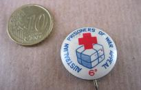 PRISONER OF WAR APPEAL AUSTRALIAN  RED CROSS PIN