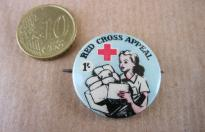 RED CROSS APPEAL COMMONWEALTH PIN