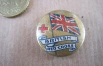 BRITISH RED CROSS PIN