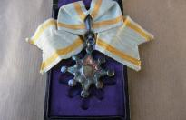 JAPANESE MEDAL ORDER OF SACRED TREASURE WITH BOX 2