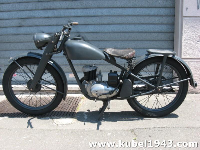 Varie Great Bike Original Germany Ww2 Mod Dkw