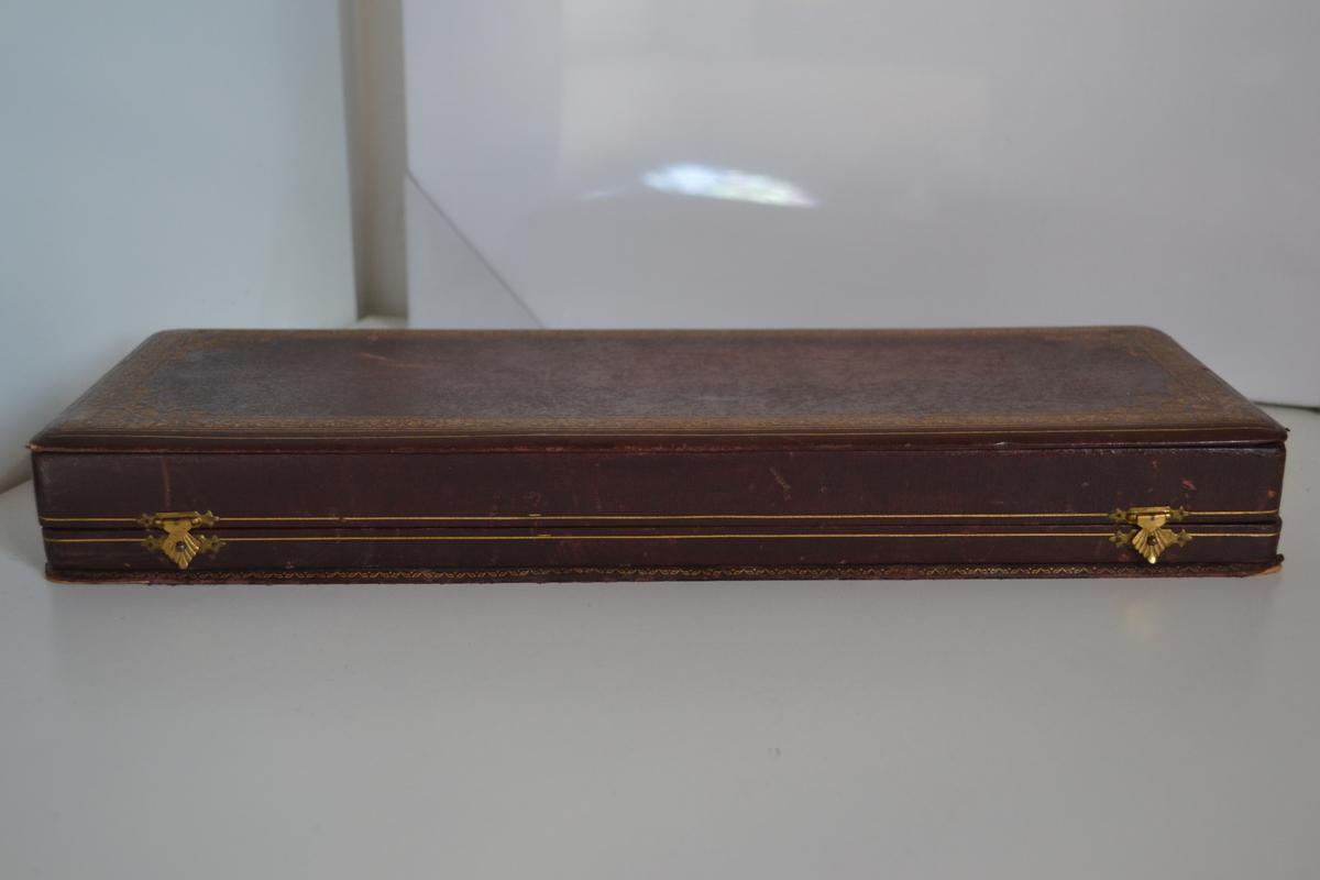 pugnali spettacolare rarissimo pugnale regalia da console generale con cofanetto. Black Bedroom Furniture Sets. Home Design Ideas