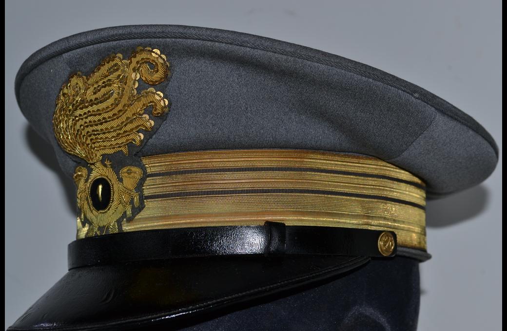 Splendido berretto italiano ww2 da ten. colonnello del glorioso 1° reg  bersaglieri cod ber1 a27774404b1c