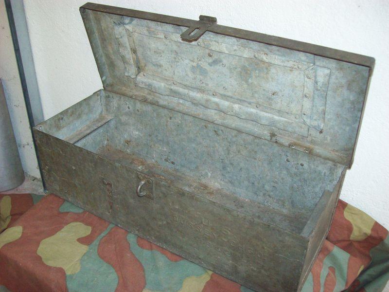 Equipaggiamento------------Box, Spare parts, M1937 Field